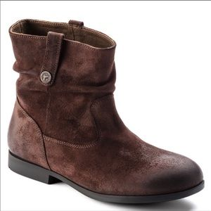 NEW Birkenstock Sarnia Brown Oiled Ankle Boots 7